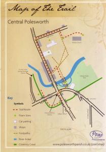 Polesworth Poets Trail Route